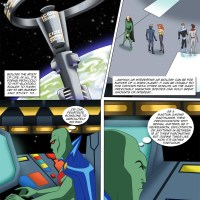 Green Heat: Martian Manhunter has learned about sex a lot and now it's time for some practice...