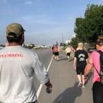 Justice Plumbing Employees Walk 13 Miles in Support of Veterans