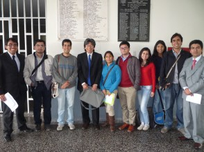 Legal clinical students at The National University of San Marcos, Peru