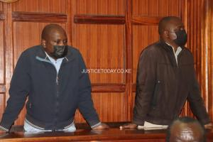 Two media impostors charged in court.