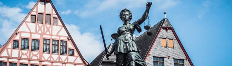 Diosa Themis en Frankfurt