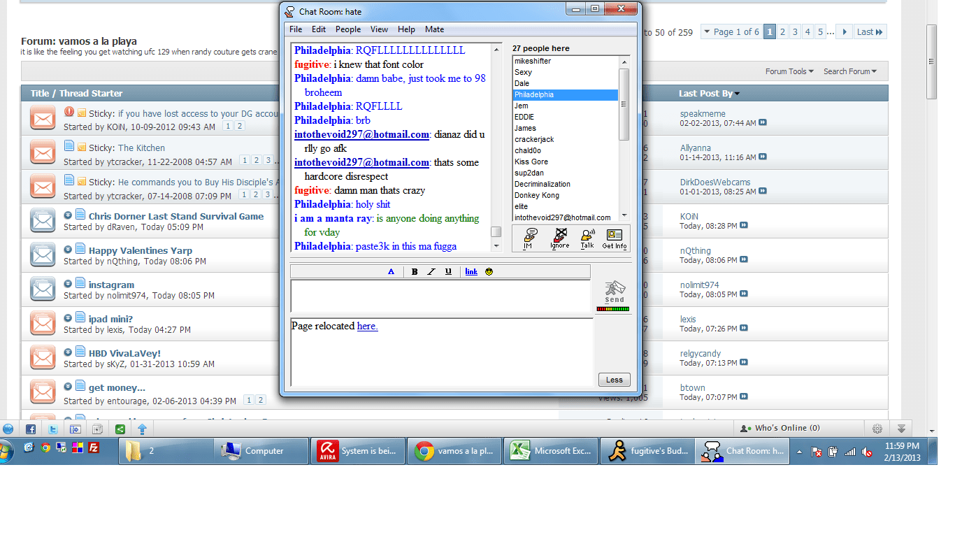 AOL IM Logs – JustinAKAPaste com
