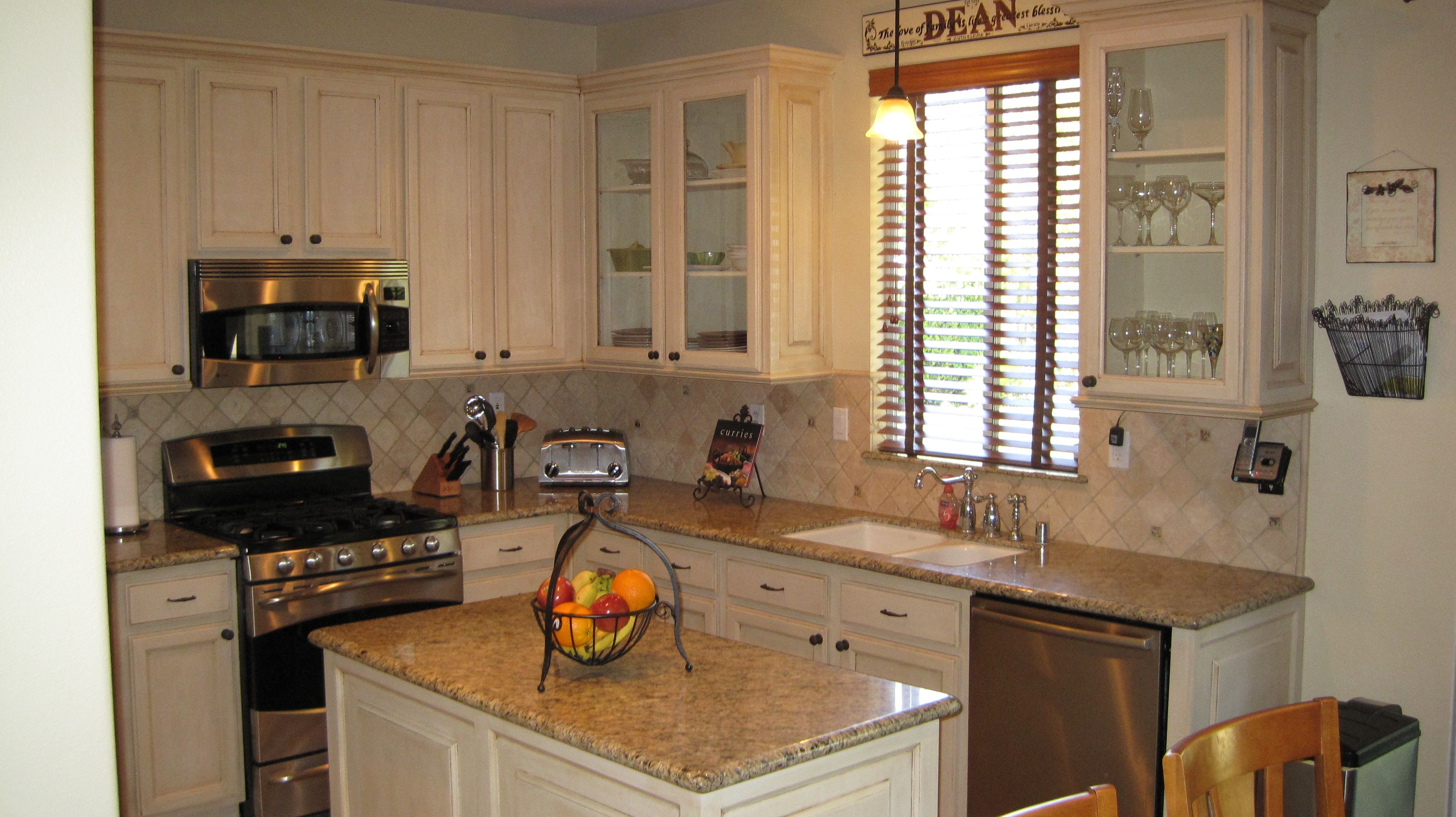 Easily Refinish Kitchen Cabinets  Wow Blog