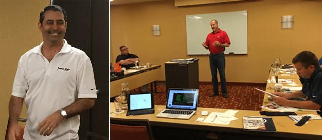 Justin Blair 2017 sales meeting recap