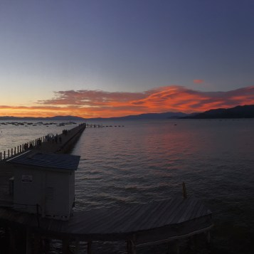 Lake Tahoe Sunset