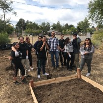 Building a Raised Bed with Encompass Academy