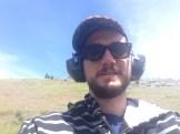 Shotgun shooting selfie