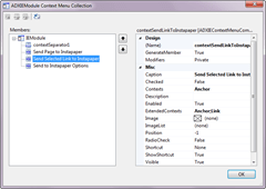 Creating Context Menus