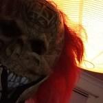 creepy halloween portrait