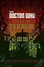 book cover for doctor who tales of terror