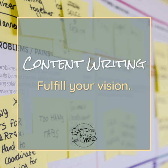 Service: Content Writing
