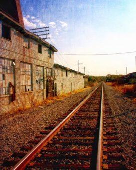 Sunset on the Old Factory, Missouri 8 X 10