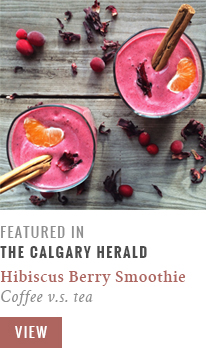 Feature // Coffee v.s. Tea | Calgary Herald Gastropost // JustineCelina.com