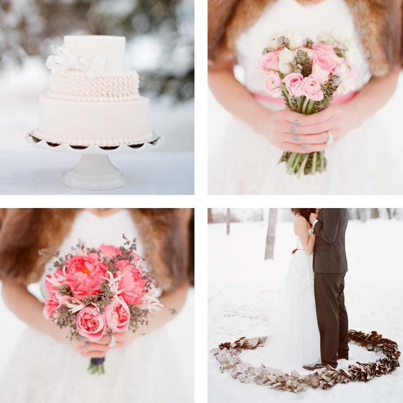 A White Wedding // JustineCelina.com