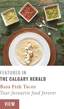 Feature // Your Favourite Food Forever | Calgary Herald Gastropost // JustineCelina.com