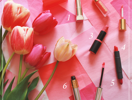 6 Fresh Spring Lip Colours // JustineCelina.com