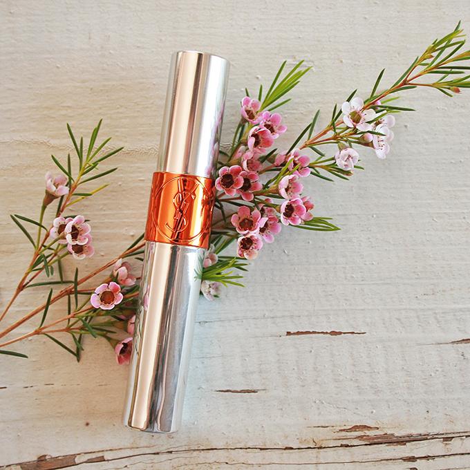 Best in Beauty | April 2015 | Yves Saint Laurent Volupté Tint-In-Oil in Orange Crush // JustineCelina.com