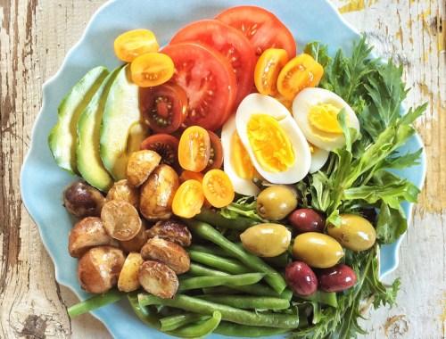 Crudité-Style Niçoise Salad // JustineCelina.com