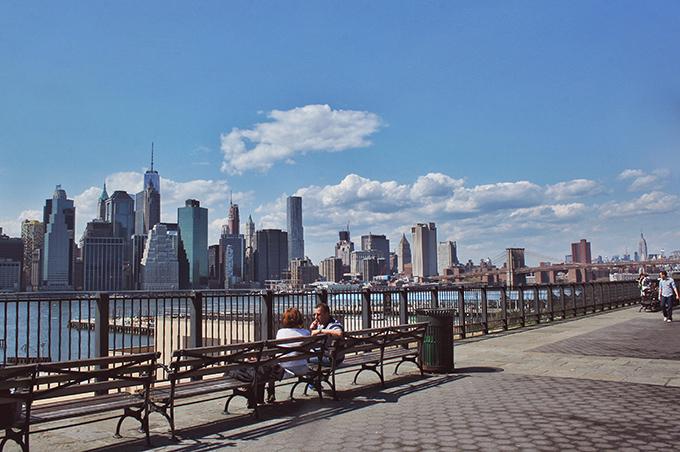 Snapshot   New York City   Manhattan Skyline from Brooklyn // JustineCelina.com