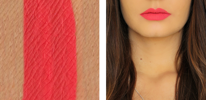 Colourpop Ultra Matte Lip in Ouiji Photos, Review, Swatches // JustineCelina.com