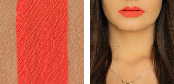 Colourpop Ultra Matte Lip in Pacific Photos, Review, Swatches // JustineCelina.com
