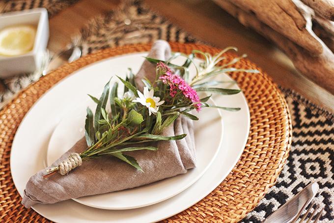 DIY   Wildflower Bouquet // JustineCelina.com