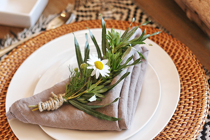 DIY | Wildflower Bundles // JustineCelina.com