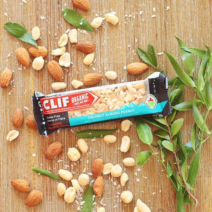 Clif Coconut Almond Peanut Organic Trail Mix Bar Review // JustineCelina.com