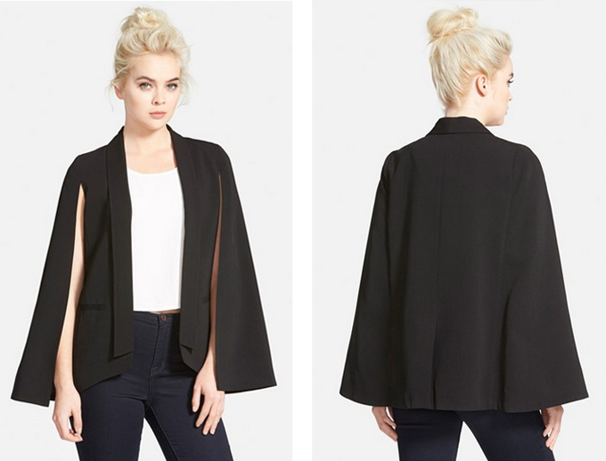 Fall Fashion Trends 2015 | The Cape Blazer // JustineCelina.com