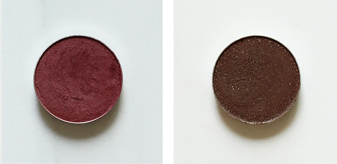 Makeup Geek Eyeshadow in Bitten Photos Review Swatches, Makeup Geek Eyeshadow in Bada Bing Photos Review Swatches