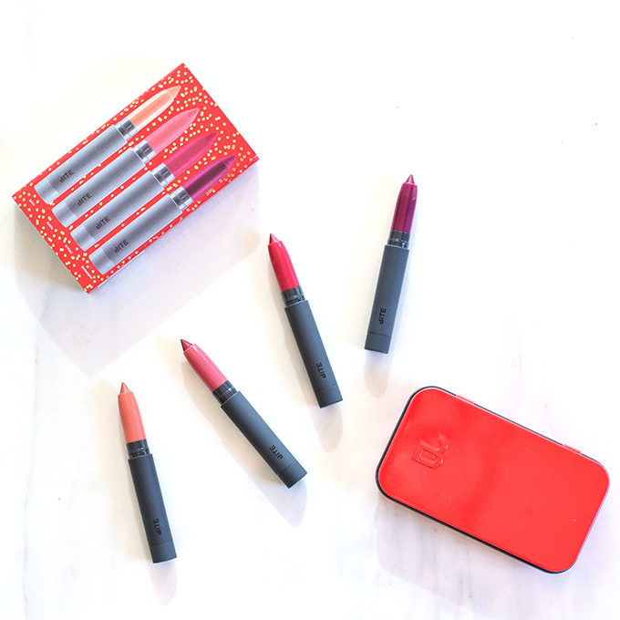Bite Beauty Best Bite Rewind Set | Holiday 2015 | Photos, Review, Swatches // JustineCelina.com