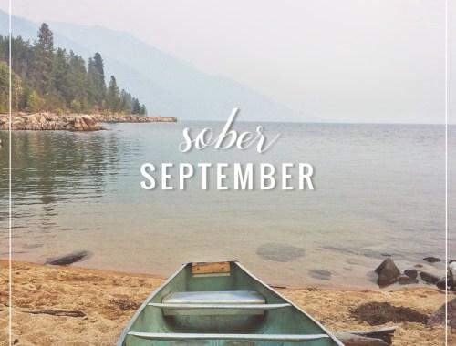 Sober September // JustineCelina.com