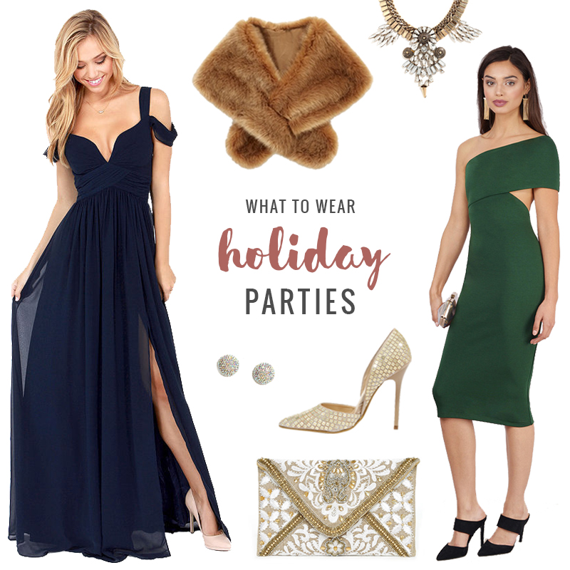 What to Wear | Holiday Parties // JustineCelina.com