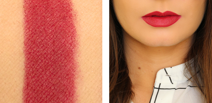 Best in Beauty | Essence Lip Liner Red Blush Photos, Review | October 2015 // JustineCelina.com