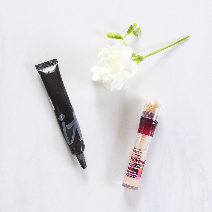 2015 Beauty Favourites   IT Cosmetics Bye Bye Under Eye Concealer in Neutral Medium Photos, Review, Swatches   Maybelline Instant Age Rewind Concealer in Neutralizer Photos, Review, Swatches // JustineCelina.com