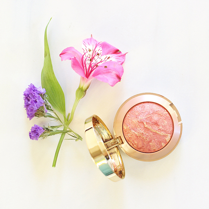 Milani Baked Blush in Rose D'Oro Photos, Review, Swatches // January 2016 Beauty Favourites // JustineCelina.com