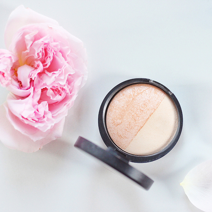 Laura Geller Baked Highlighter Duo | French Vanilla / Portofino Photos, Review, Swatches // JustineCelina.com