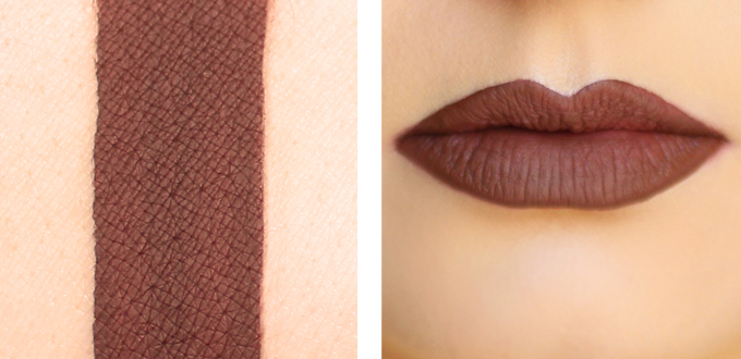 Colourpop Ultra Matte Lip in Limbo Photos, Review, Swatches // JustineCelina.com