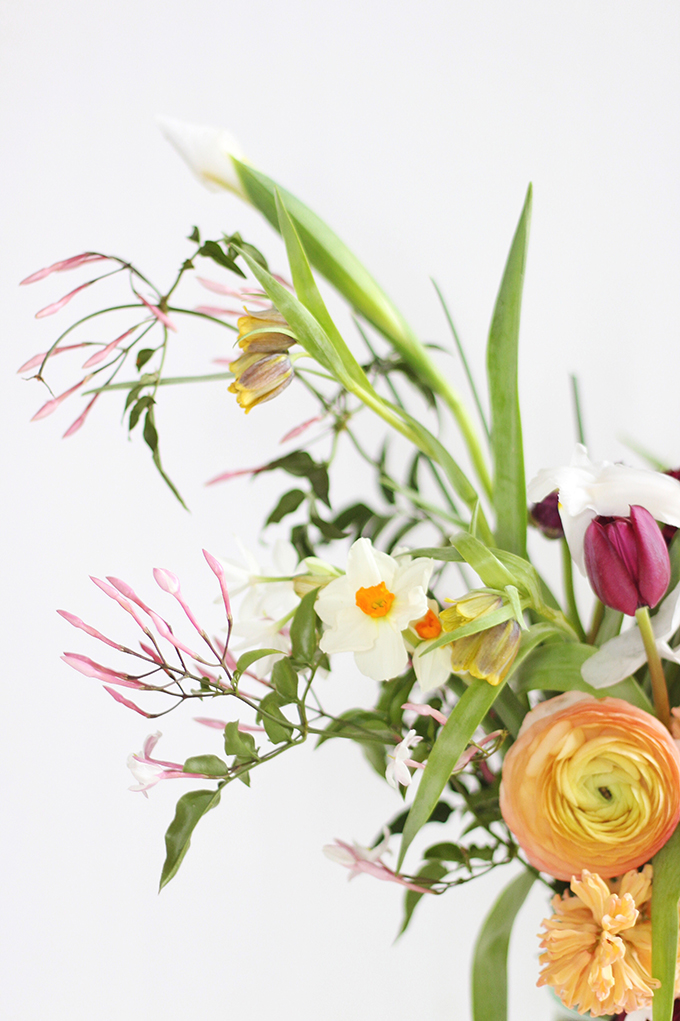 An Introduction to Spring Flowers | Fritillaria // JustineCelina.com