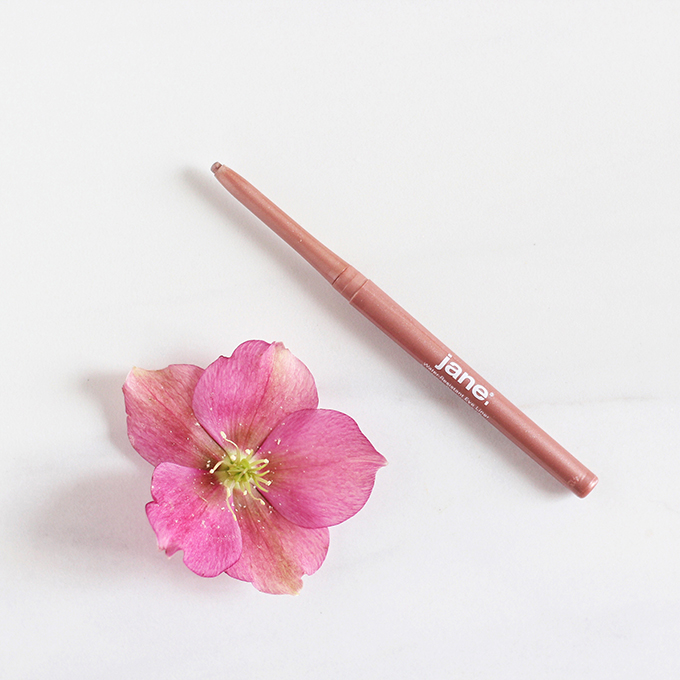 Jane Cosmetics Water-Resistant Eyeliner in Rose Gold photos, review, swatches // JustineCelina.com