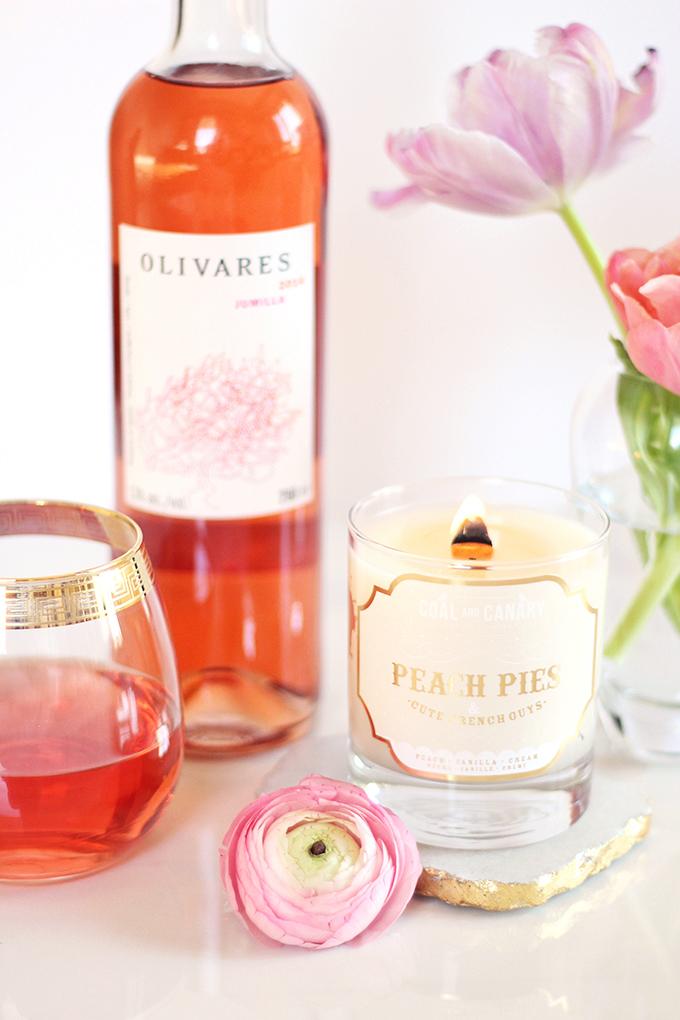 Jumilla rosé by OLIVARES Review | Simple Pleasures // JustineCelina.com