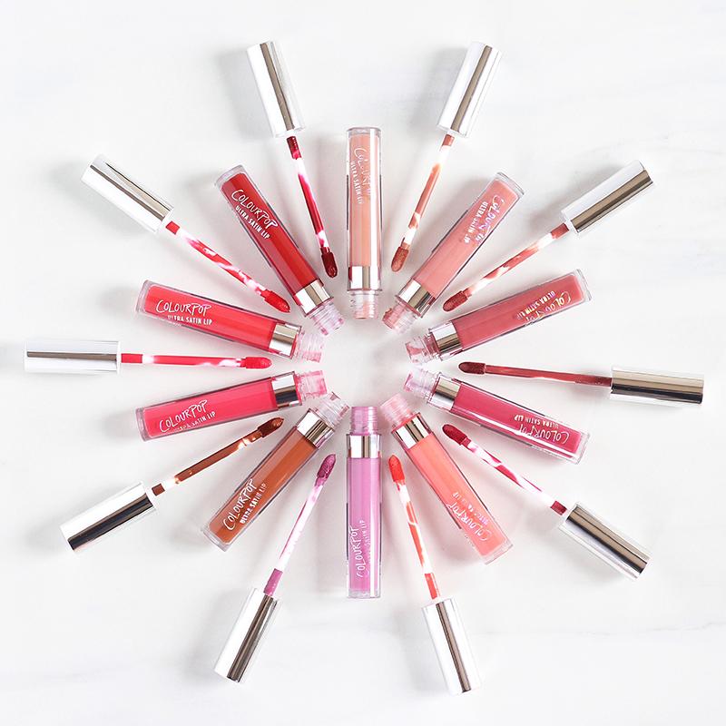 Colourpop Ultra Satin Lip Photos, Review, Swatches // JustineCelina.com