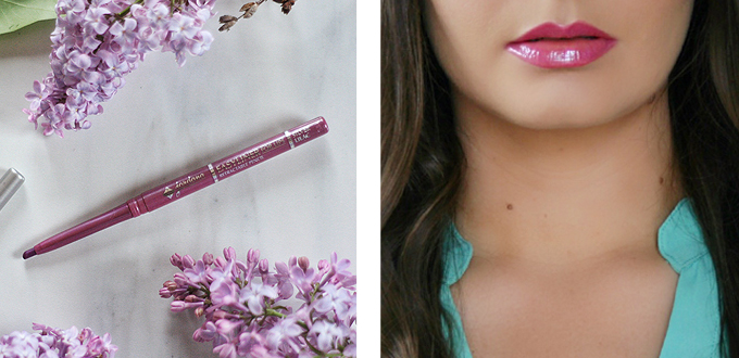 Best in Beauty   May 2015 // Jordana Easyliner for Lips in Silver Lilac with Buxom Full-On Lip Cream in Lavender Cosmo Photos, Review, Swatches // JustineCelina.com