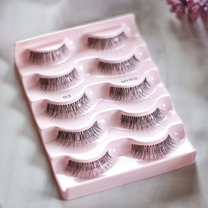Best in Beauty   May 2015 // Kiss Ever EZ Lashes Multipack in 03 Photos, Review // JustineCelina.com