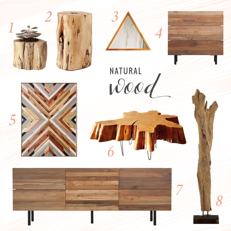 Texture Obsession | Natural Wood // JustineCelina.com