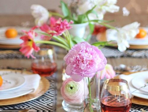 Summer Solstice Dinner Party // JustineCelina.com