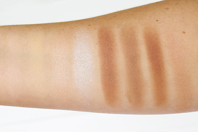 Makeup Revolution Ultra Contour Palette Photos, Review, Swatches // JustineCelina.com