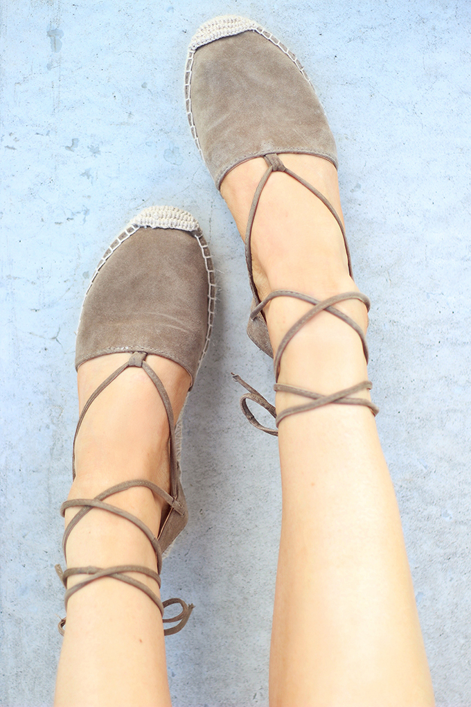 Shoes of Summer + End of Season Sales | The Espadrille // JustineCelina.com