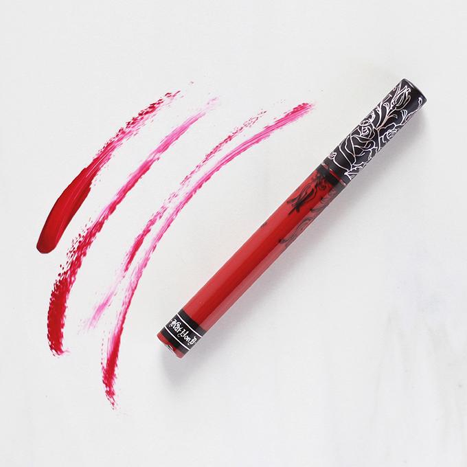 Kat Von D Everlasting Liquid Lipstick in Nahz Fur Atoo Photos, Review, Swatches // JustineCelina.com