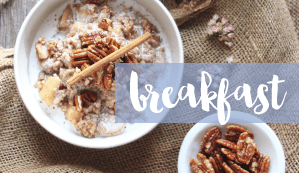 Browse my Healthy, Plant Based Breakfast Recipes // JustineCelina.com